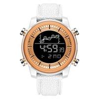 손목 시계 Smael Smael Fashion 방수 캘린더 더블 디스플레이 전자 시간 주 시계 1556--1