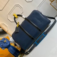 extall أكياس المصممين 50 55 حقيبة يد محفظة الجلود جودة عالية bandouliere زهرة نمط السفر الأمتعة القماش الخشن حقيبة حمل t8ki #