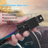 Car GPS & Accessories Mini Tracker MTK2503 Hidden Design Cut Off Fuel Alarm Locator 10-40V Overspeed Alert
