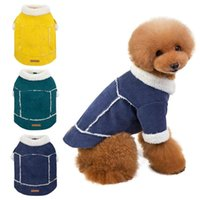 Dog Apparel Pet Winter Coat Warm Jacket Puppy Poodle Thicken Vest Outfit For Small And Medium Dogs Coats