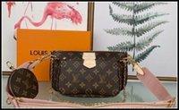 Donne preferite Borse di modo in vera pelle multi Pochette Accessori Purses Flower Mini Pochette 3pcs Crossbody Bag Designer Designer Luxurys Borse a tracolla
