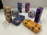 Infinity Sihirli Küp Yaratıcı Gökyüzü Fidget Antistress Oyuncaklar Ofis Flip Kübik Bulmaca Mini Bloklar Dekompresyon Komik Oyuncak