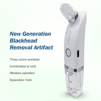 Fluid microdermabrasion handheld face massager electric vacuum blackhead remover professional skin cleaner super suction stock in USA