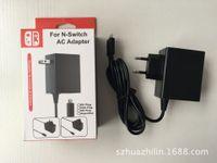 Зарядное устройство адаптера переменного тока для NINTEND Switch NS Lite Game Console EU Plug Charger Устройство настенного адаптера зарядки питания Home Travel