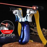 المنتج 98K الليزر مقلاع عالية الدقة في الهواء الطلق الضغط السريع الدقة الأشعة تحت الحمراء مقلاع اطلاق النار الصيد حبال النار