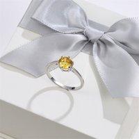 Иналис натуральные изумрудные кольца для женщин 8 мм классический серебро 925 ювелирные изделия свадебное обручальное кольцо драгоценные камни украшения украшения 2020 1740 Q2