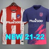 2021 2022 Atlético de madrid camiseta de fútbol JOÃO FÉLIX JOAO FELIX 21 22 M. LLORENTE KOKE SAUL GODIN Diego Costa camisa de fútbol de los hombres + los niños del kit