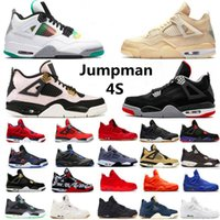 2021 Top Quality Jumpman 4s scarpe da basket 4 università blu vela kaws metallico cemento viola metallico alternativo nero bianco mens donne sportiva sportiva sneaker