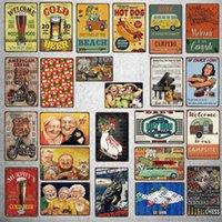 Segnale di avvertimento di pesca Placca Metallo Vintage Animal Protection Sign di Targhetto per Parete Poster Bar Art Home Decor Cuadros