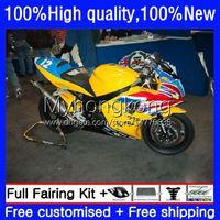 OEM Body For Triumph Daytona650 Daytona 650 600 Yellow hot CC 02 03 2004 2005 10No.215 600cc Bodywork Daytona 600 650cc 2002 2003 04 05 Daytona600 2002-2005 Fairing