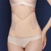 Women's Shapers Corset Back Pain High Elastic Multifunction One Size Waist Trainer Body Shaper Women Belly Belt Improve Posture Adjustable