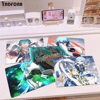 Musmattor Handledsstöd Sword Art Online Asada Shino Anti-Slip Slitstarkt Silikon Computermats Smooth Write Pad Desktops Mate Gaming