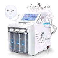Pro 7 in 1 Hydra Dermabrasion Aqua Peel Clean Cura della pelle Bio Light RF Vacuum Viso Pulizia Hydro Water Oxygen Jet Peel Machine