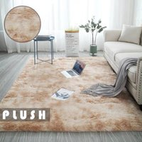 Carpets For Living Room Mixed Color Carpet Simple Modern Long Hair Bedroom Non-slip Comfortable