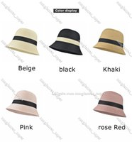 2021 Fashion Bucket Female Wild Spring and Summer Thin Section hat Net Red Big head Around Face Small cover Faces Fisherman hats