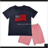 Sets Baby, & Maternity Drop Delivery 2021 Embroidery Kid Designer Clothe Boy Design Baby Boys Summer Clothes Set Toddler Outfits Kids Boutiqu
