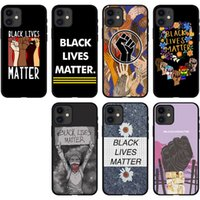 I Can't Breathe Phone Cases Black Lives Matter Man Cover Human Rights Soft Case for iPhone 7 8PLUS XR X MAX 11 12 PRO