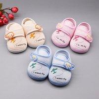ولد الطفل بنات بوي أحذية لينة وحيد الكرتون مكافحة زلة الربيع مريحة طفل رضيع أول ووكر مشوا