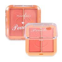 Blush Pigmented Matte Cheek Rouge Makeup Double Natural Glow Powder Long Lasting