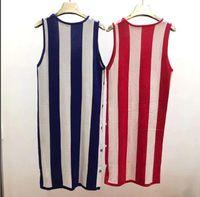 21 Knit Suspender Dress Mulheres Colete Longa Saia Com Sweater Base Skirt 0510