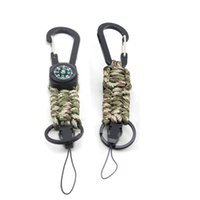 Hot Quality With Outdoor Colors 550 Paracord Camping Key Handmade 4 Keychains High Chain Sale Compass Oqxou