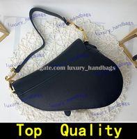حقيبة السرج أعلى جودة جلد طبيعي مع حقيبة الكتف حقيبة الظهر محفظة محفظة المعادن قلادة المرأة أكياس crossbody