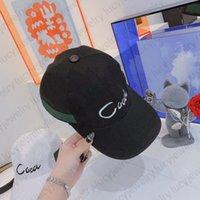 قماش بيسبول كاب الكرة قبعات دلو قبعة أزياء g إلكتروني القبعات الفن كلمة التطريز للرجل امرأة مصمم 4 لون أعلى جودة