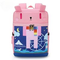 학교 가방 3D 만화 사전 보호 척추 아이 배낭 유치원 키즈 Bookbags 유아 어린이 배낭