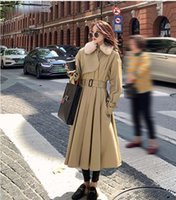 Zoulv 2021 Woman Bandage Vintage Casual Overcoat Winter Coat...