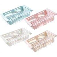 Hooks & Rails Home Holder Food Kitchen Organizer Refrigerator Storage Box Shelf Drawer Shelves Utensils For Holders Racks