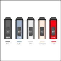 YoCan Vane Kit 베인 주요 드라이 류 증발기 OLED 디스플레이 세라믹 챔버 1100mAh 펜 5 색 DHL 무료