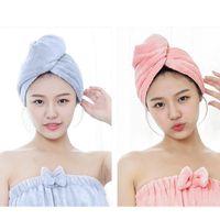 Towel Magic Dry Hair Bath Microfiber Quick Drying Absorb Moisture Dryer Shower Wrap Hat Cap