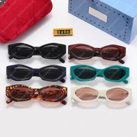 Frauen Sonnenbrille Womens Männer Brille Luxurys Designer Sonnenbrille Mode Brille Luxus Designer Sunglas UV Großhandel mit Kasten 2105072l