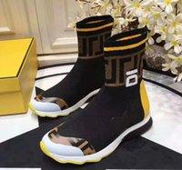 [with box] 2020 velocità runner scarpe scarpe da ginnastica scarpe da ginnastica casual scarpe da uomo donne nero bianco 2.0 lusso calzino sneaker 35-45
