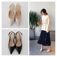 Chaussures de robe Zhenzhou pompes 6cm / 8cm / 10cm Automne Femme High High High Women's Stiletto Hollow Mode coréenne pointée