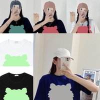 Summer tiger loose head t shirt short sleeve letter tshirt Women Men Casual t-shirt good mens Tshirts embroidery tee tops womens embroidered