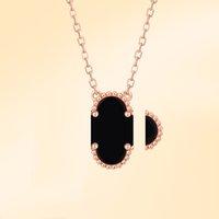 Четырех лист, 18 тыс. Золотое Счастливое Клевер Ожерелье Женская Мода Роскошные Кулон Высокое Качество Сейко Производство Ювелирные Изделия Классический стиль 002