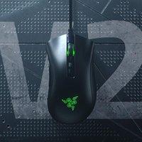 Raze Razer DeathAdder V2 Mini Mini Gaming Mouse 8500dpi Sensor óptico Chroma RGB 6 botões programáveis, ergonômico