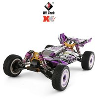 124019 1 12 2.4G 60 Km h 4WD Metals Chassis Rc Car 550 Brushed Motor Off-Road Climbing Truck Vehicles Models Children Toys