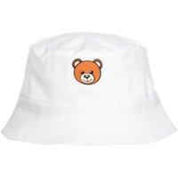 Cartoon Bear Kids Hat Cotton Fishing Hats Boys Girls Summer Visor Cap Children Sunhat Hip Hop Caps Unisex Topee 3-8 Years