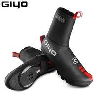 Велосипедная обувь Giyo водонепроницаемая обувь обложка неопрена термический весенний зимний велосипед перерывается на ботинок MTB дорожный велосипедный цикл