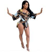 Dress Womens Dress For Womens Floral Embroidery Mini Abiti Rayon Breve Flare Manica Lunga Boho Abiti Chic Abiti Vestito V-Collo V-Dens Chiffon Dre