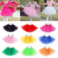 Children Kids Baby Girls High Quality Tutu Skirt Halloween Fancy Skirts Party Club Custom