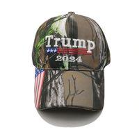 25 unids / dhl camuflaje triunfo 2024 bola sombrero mujeres diseñadores para hombres snapback gorras de béisbol antiadgen estadounidense bandera maga verano sol visor 1137 v2