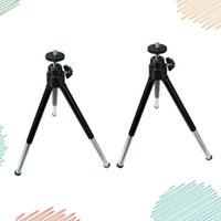 미니 휴대 전화 삼각대 2 세그먼트 소형 데스크탑 파이핑 디지털 SLR 카메라 홀더 셀 마운트 홀더