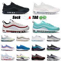 nike air max airmax 97 off white حذاء رياضي 97 للجري عالي الجودة 2021 مقاس أمريكي 12 كلاسيكي ثلاثي أسود كل أبيض استوائي تويست للهالوين 97s حذاء رياضي للرجال والنساء
