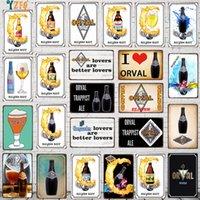 Beer Metal Plate Beer Bottle Tin Sign Wall Bar Home Art kitchen Decor Vintage Metal Poster ( N-1)