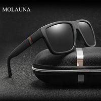 Polarize Güneş Gözlüğü erkek Sürüş Shades Erkekler Için Erkek Güneş Gözlükleri Spor Lüks Kadınlar Marka Tasarımcısı UV400 Gafas
