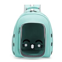 Cat Carriers,Crates & Houses Anti-scratch Clear Dog Carrier Backpack Pet Shoulders Bag For Travel And Hiking Camping Provides Protection