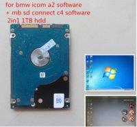 Super Diagnostic Software 2In1 MB STAR C4 C5 y para BMW ICOM V2021-03 HDD 1TB Instalado bien Disco duro